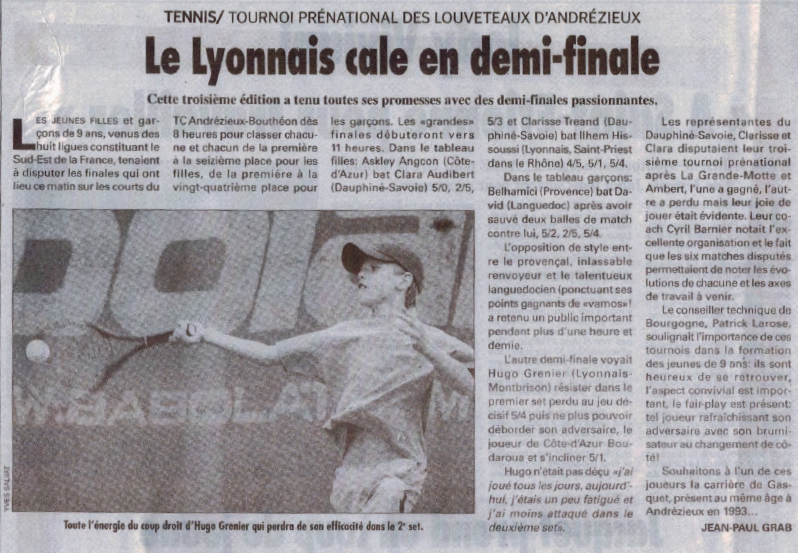 Article juin 2005